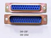 D-sub DB-25F