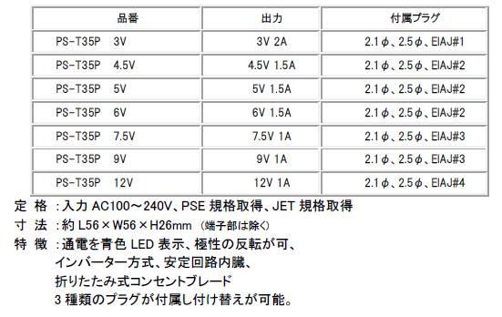 PS-T35P-12V