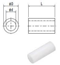 ジュラコンカラー2X3(1袋100個入)