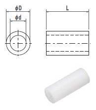 ジュラコンカラー2X15(1袋100個入)