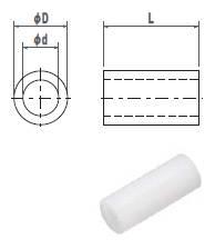 ジュラコンカラー2.6X8(1袋100個入)