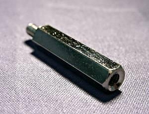 真鍮オス・メス 3×35 (1P/100個入)