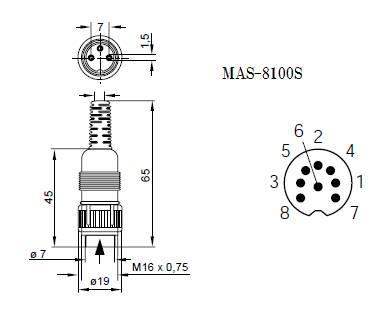 MAS-8100S(100個入)